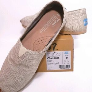 TOMS Clay Space-Dyed Classics NWT